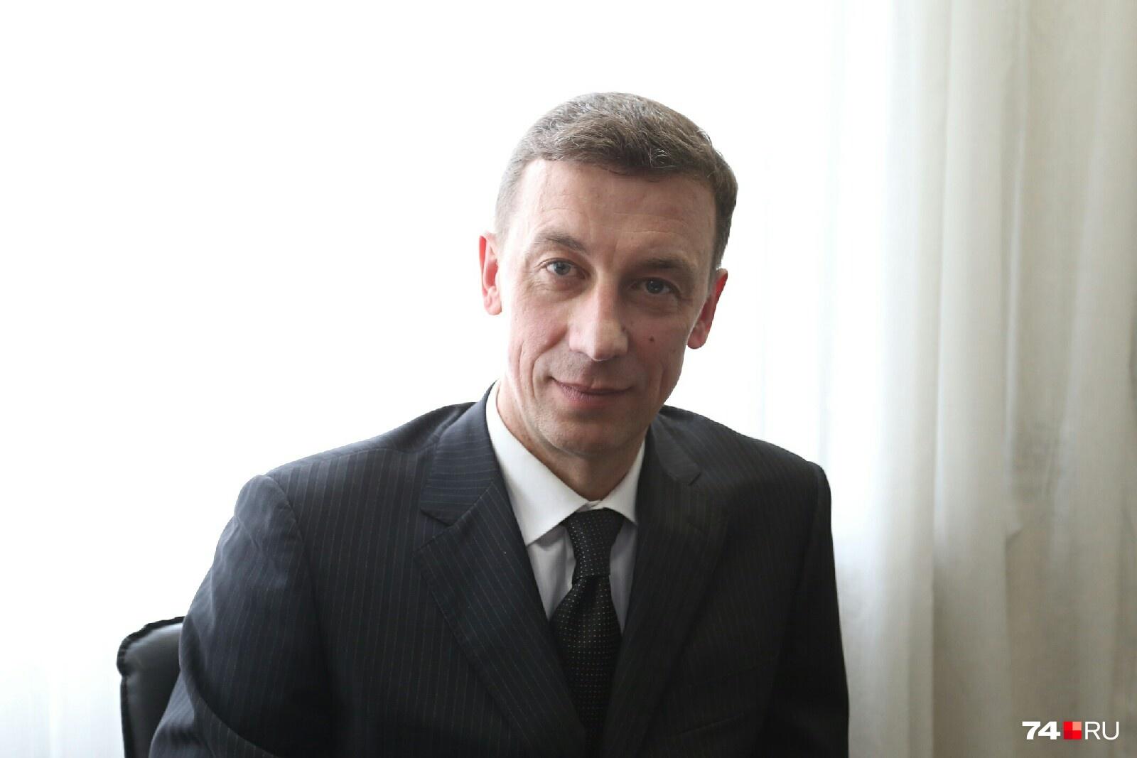 Николай Шиманович уже имеет опыт мэра — руководил Трёхгорным