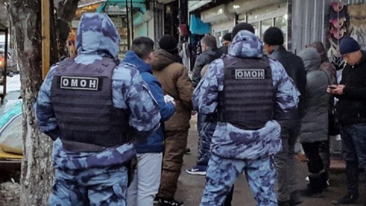 В Волгограде задержали шестерых иностранцев