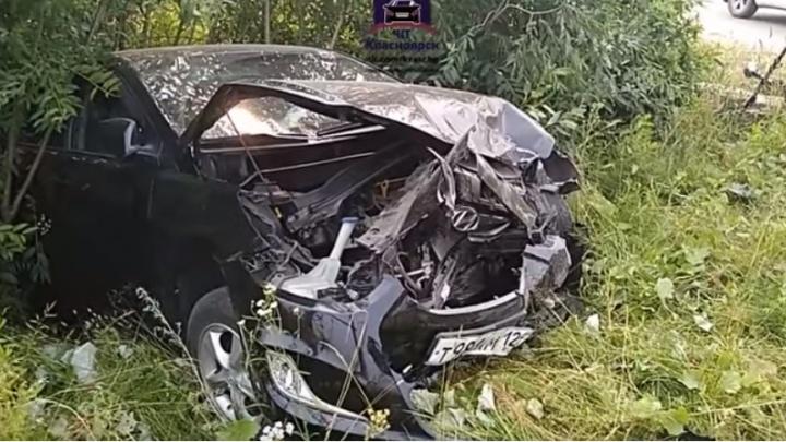 «Машины как из фольги». Неуступчивый водитель «КИА» устроил массовую аварию под Лесосибирском