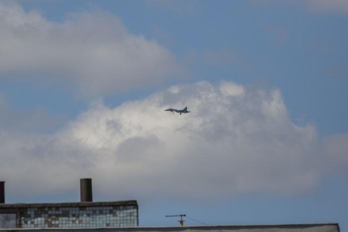 Су-35 будет участвовать в воскресном авиашоу
