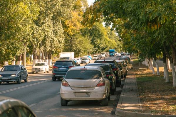 Парковка вдоль улиц центра города станет платной