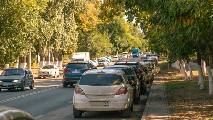 30 рублей в час: стало известно, на каких улицах Самары парковку сделают платной