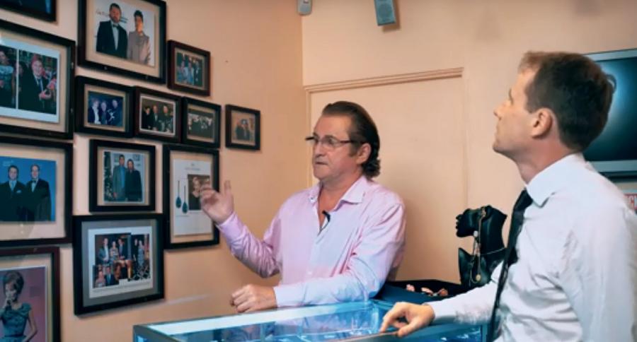 Алексей Солдатов в наши дни. Во время съемок программы «Американское счастье» с Юрием Мошем