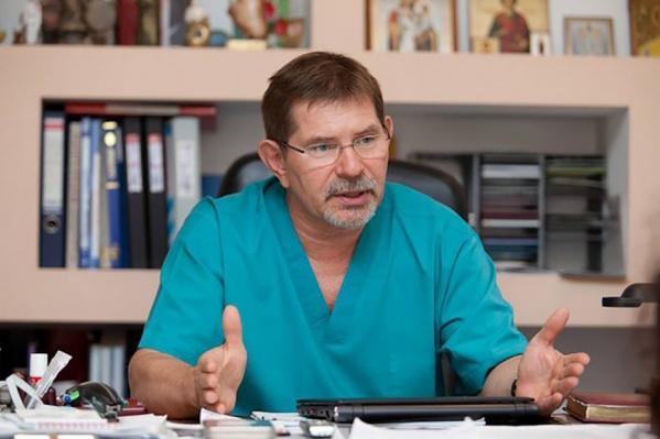 Александр Чернявский будет исполнять обязанности руководителя клиники без отрыва от своей основной работы