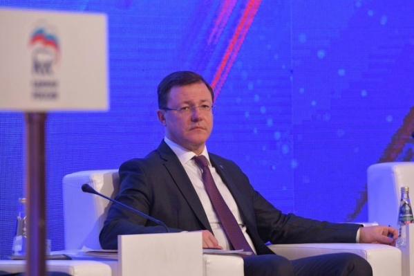 Кресло главного самарского единоросса Дмитрий Азаров занял по согласованию с председателем Правительства России