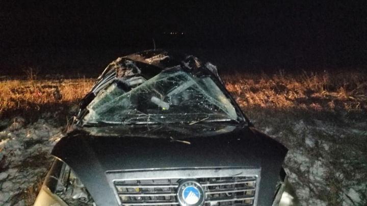 Смертельная ошибка: под Самарой водительGeely не справился с управлением и улетел в кювет