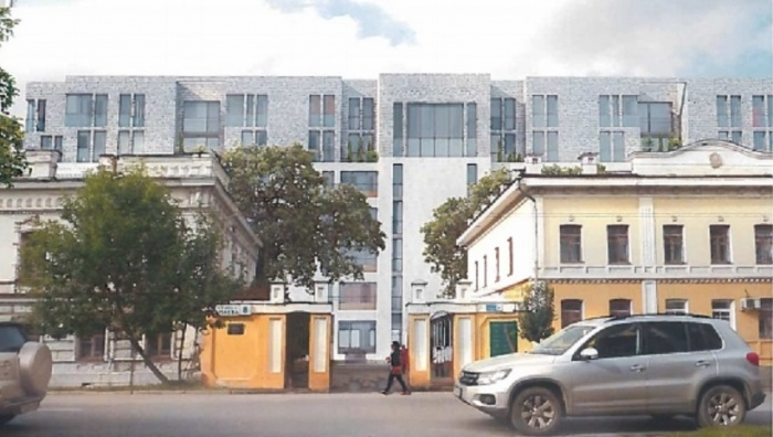 Новостройки будут стоять по соседству с историческими зданиями