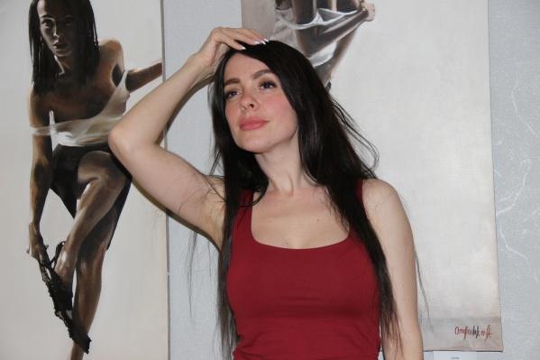 Художница Анастасия Отришко написала новую картину с загадками
