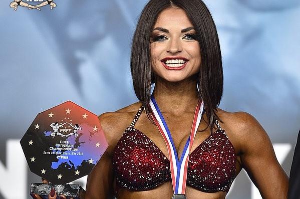 Вероника Шленчик работает в Екатеринбурге фитнес-тренером
