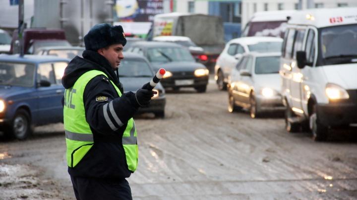 Новосибирские автоинспекторы вышли ловить пьяных водителей накануне 8 Марта