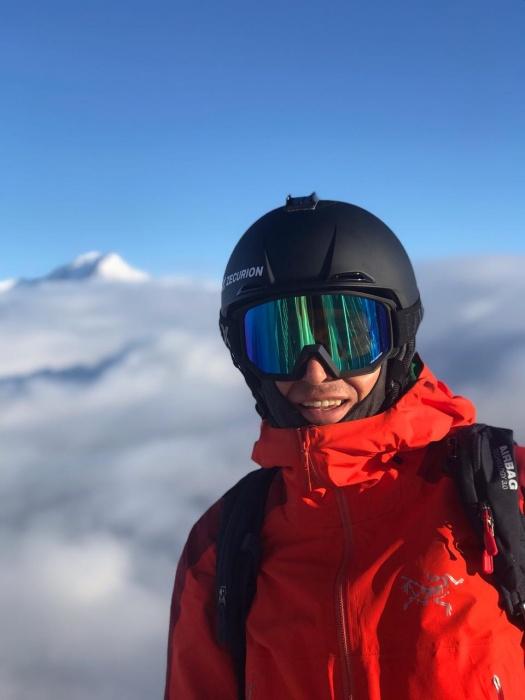 Григорий Корнеев с детства занимается горными лыжами