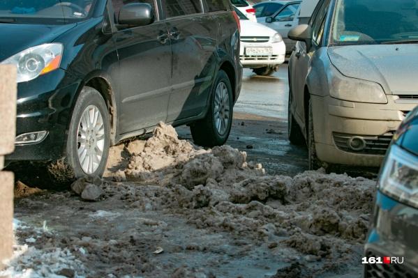 Срыв работ по зимнему содержанию автомобильных дорог местного назначения может произойти в декабре