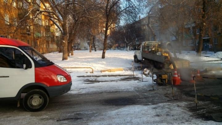 В Екатеринбурге закончили устранять повреждение на теплосетях, из-за которого замерзали 22 дома