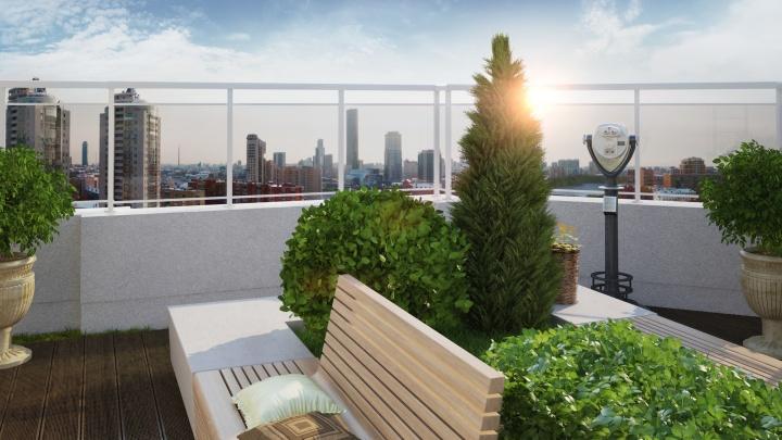 «Коттедж» на крыше многоэтажки и террасы с бассейном: какое жильё выбирают уральские миллионеры