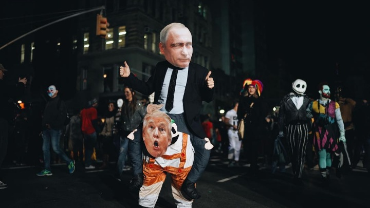 «Это был ответ терроризму»: новосибирский фотограф снял Хэллоуин-парад в Нью-Йорке