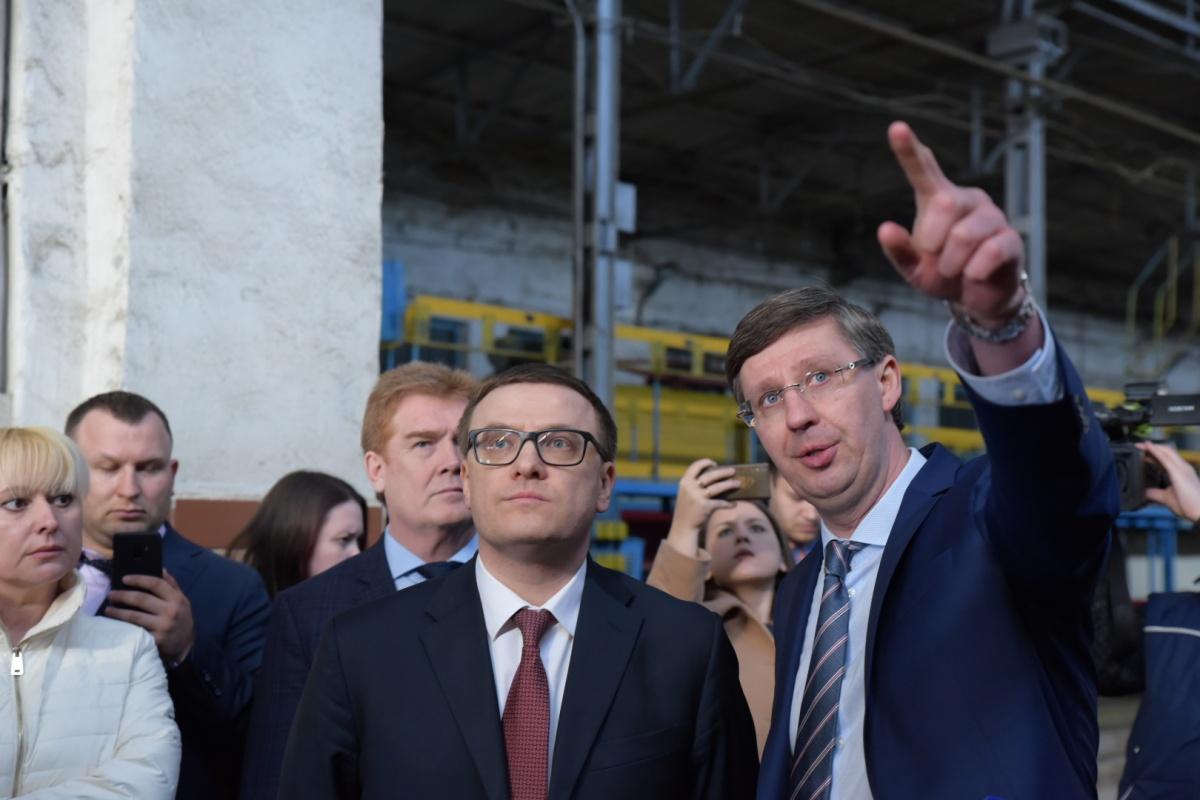 Алексею Текслеру показали образцовую работу трамвайного депо вместо маршрутного убожества, которое заполонило улицы Челябинска