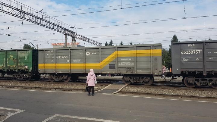 Шадринская пенсионерка остановила грузовой поезд, чтобы добраться с дачи до города