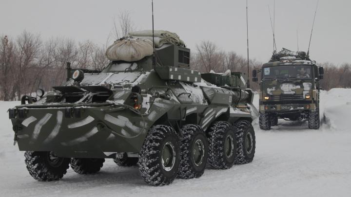 На Рощинском полигоне военные освоили технику ведения боя «онлайн»
