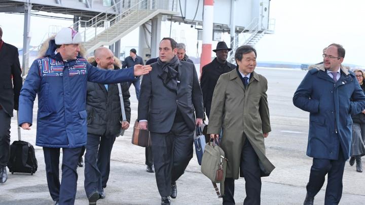 В Екатеринбург прилетели эксперты —оценить шансы на «Экспо-2025»