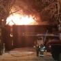 Пожар в Соликамске оставил без жилья несколько семей