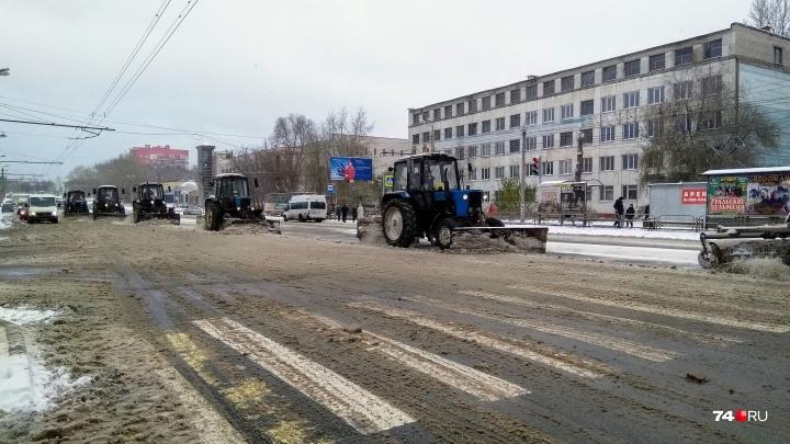 Алексей Текслер остался недоволен уборкой снега на Южном Урале