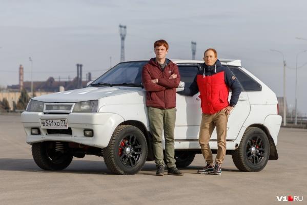 Денис и Дмитрий искали «Тарзана» по всей России