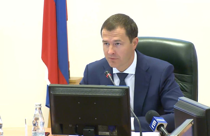 Владимир Волков провел планерку