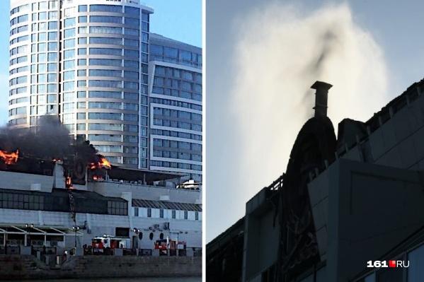 Пожар локализовали к 18:00 на 300 квадратах