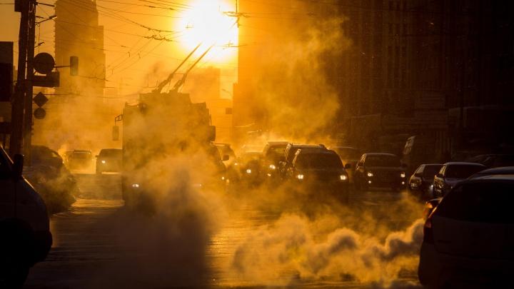Морозы задержались: Новосибирск сковали 30-градусные холода