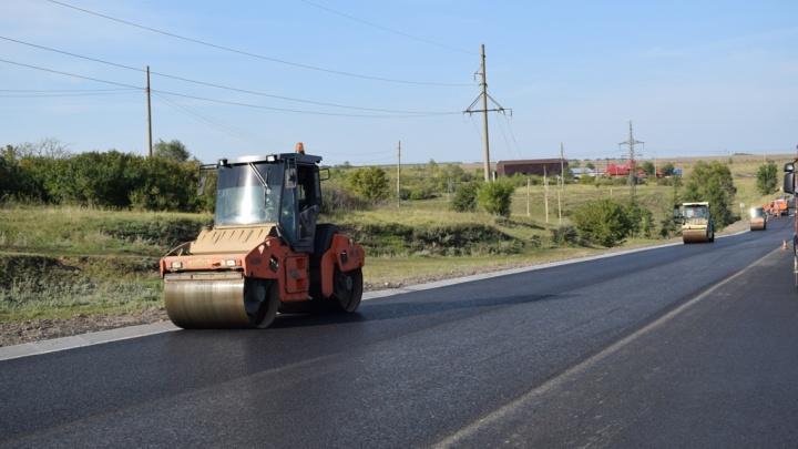 Из-за ремонта на трассе М-5 в Самарской области изменили схему движения