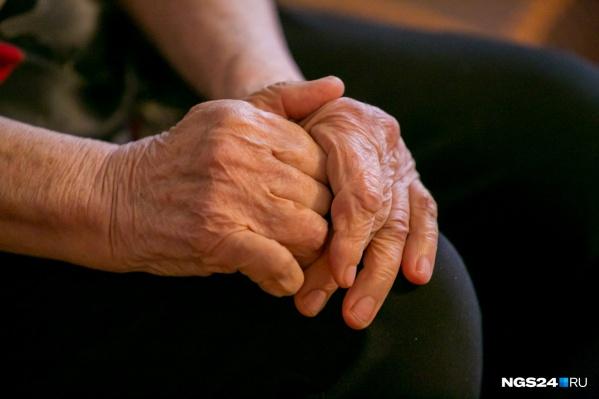 Под Красноярском обокрали 90-летнюю женщину-ветерана