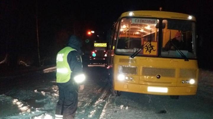 Сильная метель на трассах: за вчерашний день в Красноярском крае произошло три ДТП с автобусами
