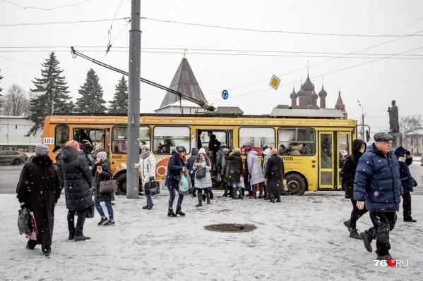 В Ярославле власти решили избавиться от дублирующих маршрутов
