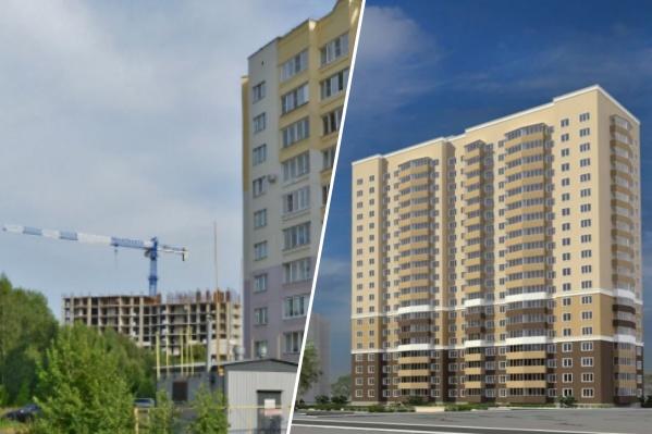 На переулке Жуковском стоит недостроенный 19-этажный дом
