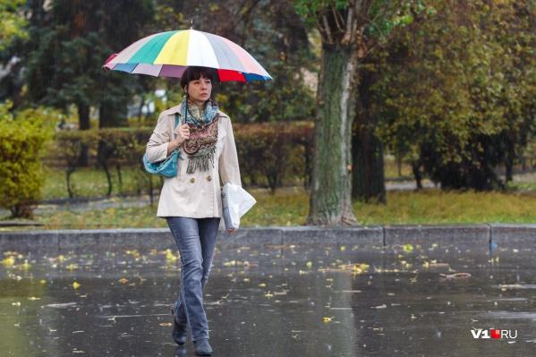 Волгоградцам настала пора расчехлять зонты