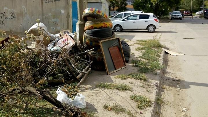 «Этот вопрос даже не рассматривали»: волжские депутаты забыли о деньгах на уборку уродливых шин