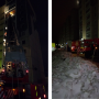 «Вроде ляльку в больницу увезли»: ночью в Челябинске сгорела квартира в многоэтажке