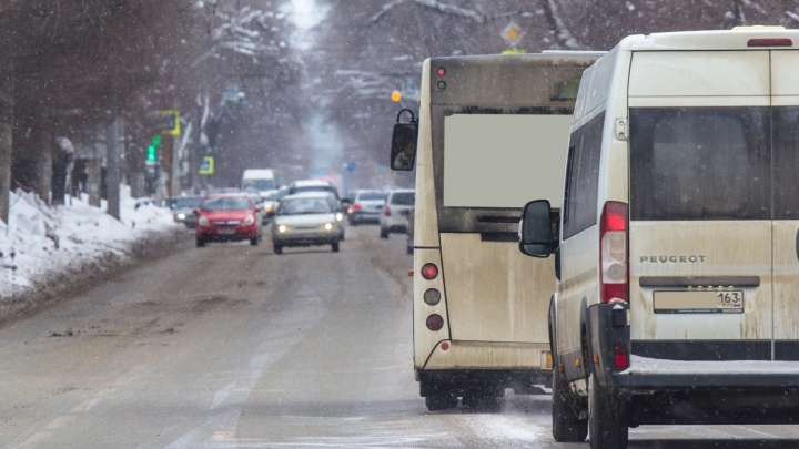 По 40 автобусов в час: что нужно, чтобы выделить полосы для общественного транспорта в Самаре