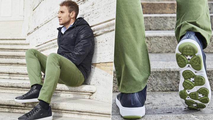 Вызов холоду, ветрам и дождям: Geox представил новую коллекцию осень-зима для мужчин