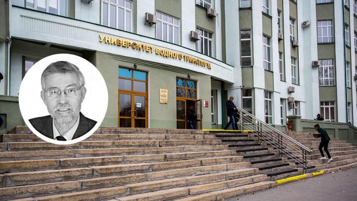 В Новосибирске умер писатель и профессор Владимир Никифоров, которому Путин присвоил почётное звание