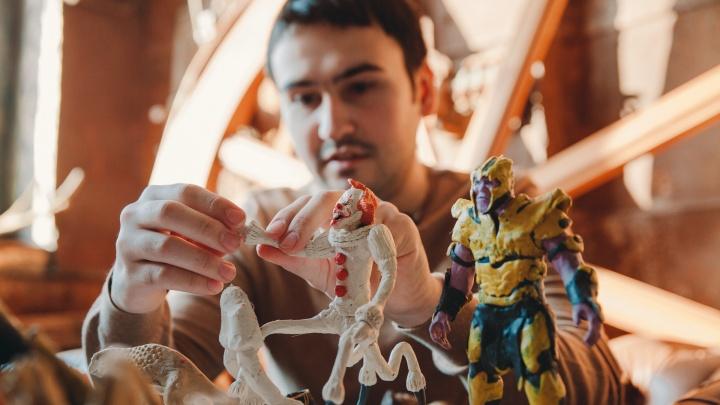 Пластилиновый мир: как и зачем тюменец лепит кинозвезд (в его коллекции даже персонажи Marvel)