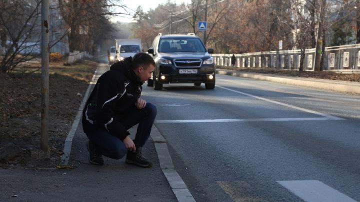 Дорожную разметку на дорогах Башкирии будут наносить термопластиком