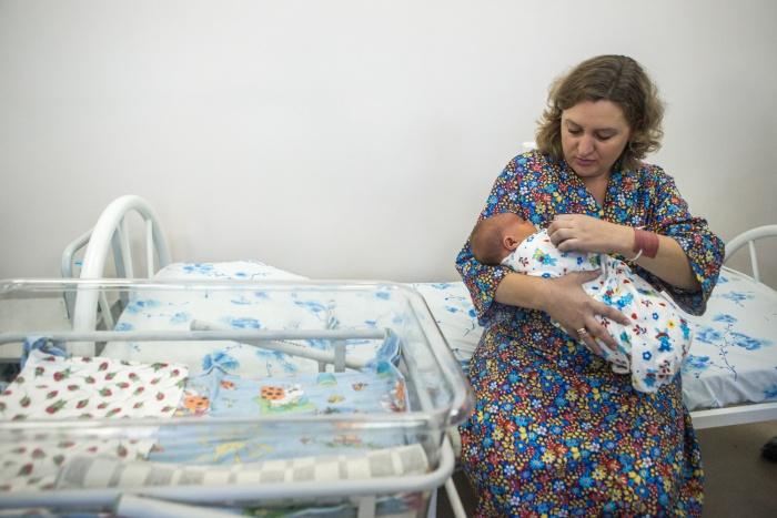 Дима Каскеев родился с весом 5670 граммов — такого большого младенца в роддоме не видели 6 лет