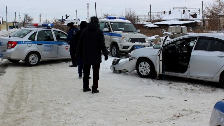 «Пьяный летел по встречке»: полиция устроила погоню со стрельбой за угонщиком в Челябинской области