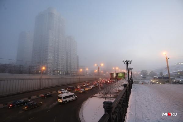 Режим неблагоприятных метеоусловий в Челябинске продлили как минимум до среды