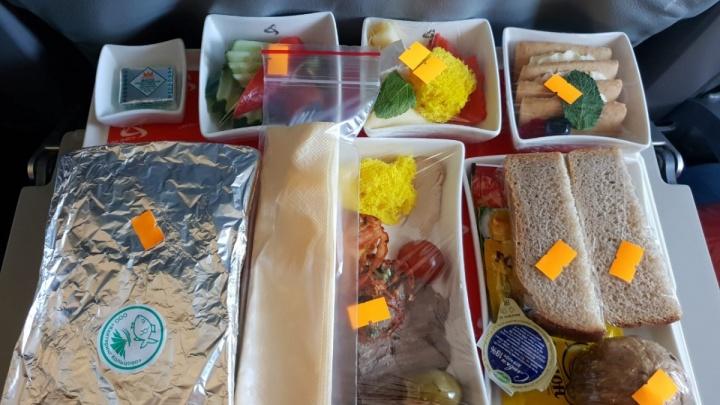 «Уральские авиалинии» рассказали, почему решили экономить на еде для пассажиров