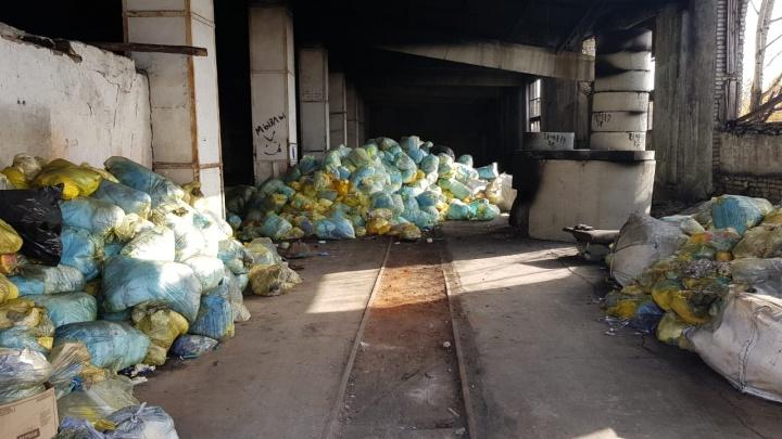 СК закрыл информацию по делу о незаконном сжигании опасных отходов в Кургане