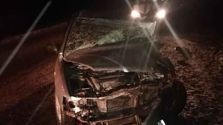 В Башкирии в ДТП сNissan Almera и Nissan Bluebird пострадал 5-месячный младенец