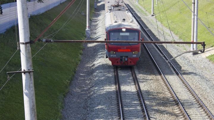 Новосибирская электричка поменяет расписание из-за ремонта путей
