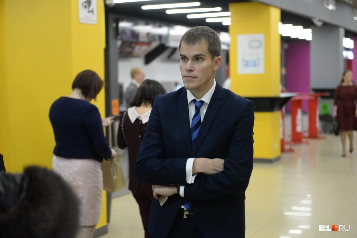 Данил Крицкий — директор компании, которая построит ледовую арену на месте снесённой телебашни